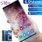 6.5inch S10 Smart Mobile Phone Face Id/fingerprint Unlocked Dual Sim Android 9.1