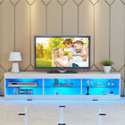 57'' TV Cabinet Stand Unit LED...