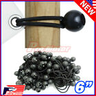 "Bulk Lot 6"" Ball Bungee Bungie Cord Tarp Tie Down Tight Strap Canopy Elastic $7.8 USD on eBay"