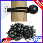 "Bulk Lot 6"" Ball Bungee Bungie Cord Tarp Tie Down Tight Strap Canopy Elastic $16.0 USD on eBay"