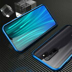 For Xiaomi Redmi Note 8 7 Pro Mi Note 10 9T A3 Magnetic Double Glass Case Cover