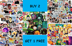 Tv Show Stickers Sets Rick And Morty The Office Friends Simpsons Strange