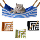 SN_ EG_ PET CAT HAMMOCK SOFT PLUSH BED ANIMAL HANGING DOG CAGE CUSHION COMFORT
