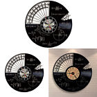 Mathematics Hanging Decoration Home Decor Movement Protractor Wall Clock Vintage