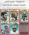 1977 TOPPS FOOTBALL 1-172 U-PICK FROM SCANS $2.0 USD on eBay