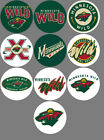 """Minnesota Wild 10 Buttons or Magnets Set 1.25"""" NEW $4.5 USD on eBay"""