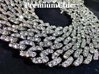 Miami Cuban Diamond (Simulated) Link Chain Necklace or Bracelet ICED Men Jewelry <br/> ✔US Seller ✔Free Shipping