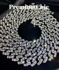 Kyпить Miami Cuban Diamond (Simulated) Link Chain Necklace or Bracelet ICED Men Jewelry на еВаy.соm
