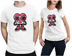 Valentine'S Day T-Shirt Funny Wink Eyes Love Character Girlfriend Boyfriend Tee