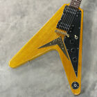 EPIPHONE Limited 1958 Korina Flying V Antique Natural Used Free Shipping for sale