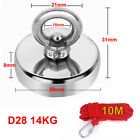 120kg  Pull Salvage Strong Recovery Magnet Fishing Treasure Neodymium with Rope