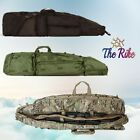 FOX Outdoor Rifle Drag Bag Backpack Straps Tactical Soft Gun Case Multicolor