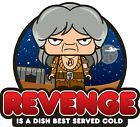REVENGE IS A DISH BEST SERVED COLD Star Trek The Wrath of Khan Printed Tee Shirt