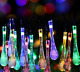 Outdoor Solar Powered 30 LED Water Drop Fairy String Lights Garden Yard Decor 3V