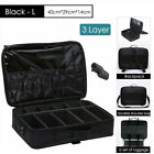 Beauty  Large Makeup Bag Cosmetic Case Storage Handle Organizer Travel Suitcase