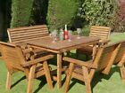 Riverco 4ft Garden Furniture, Outdoor Tables Chairs Bench Sets, 8 Styles, 4 Foot
