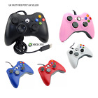 UK Brand New Xbox 360 Controller USB Wired Game Pad For Microsoft...