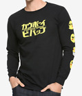 COWBOW BEBOP Long Sleeve T-Shirt NEW Authentic & Official