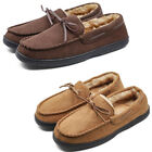 Kyпить Mens Loafer Moccasin Slippers Warm Plush Lining Microsuede Slip On Shoes Flats на еВаy.соm