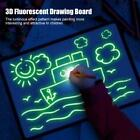 3D Fluorescent Drawing Doodle Board Writing Tablet Child Educational Study Toy