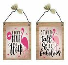 Pink Flamingo Pictures Tropical Stand Tall Bird Florida Wall Hangings Plaques