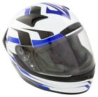MOTORCYCLE CRASH HELMET FULL FACE MOTORBIKE SCOOTER HELMET FREE TINTED VISOR