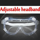 Transparent Anti Fog Vented Safety Goggles Glasses Lab Protection Eye Industry