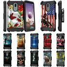 For LG Stylo 5 / Stylo 5 Plus / Stylo 5X Full Body Armor Holster Belt Clip Case