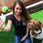 2X Tennis Selfie Stick Ball Phone Attachment Dog Pet Train Photos Squeaky Toy UK