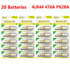 Lot EBL 4LR44 A544 4G13 PX28A 6V Batteries For Dog Training Shock Collars