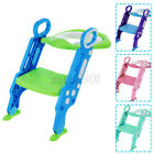 Non-Slip Kids Toilet Potty Soft Padded Seat Step Up Training Stool Chair Toddler image