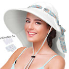 Sun Hats for Women UV Protection Large Wide Brim Cap Summer Hiking Beach Hat USA