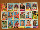1968 TOPPS FOOTBALL PICK CARDS YOU WANT NM-NMMT $4.0 USD on eBay
