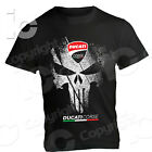 T-Shirt Ducati Desmo Punisher Racing Corse Legend Panigale Sbk Hyper V4 Classic