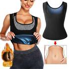 Men & Women Sauna Sweat Shaper Weight Loss Waist Trainer Vest Workout Tank Tops