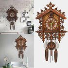 Cuckoo Clock Retro Wall Clock Rocket Model Wooden Wall Clock Home Decor