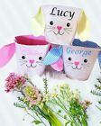 Custom Easter Basket Bunny Rabbit Ears Personalized Any Name NEW Free Shipping