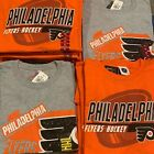 NHL Team Apparel PHILADELPHIA FLYERS Hockey T-Shirt Authentic Licensed Pick Size $19.99 USD on eBay