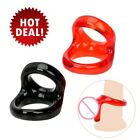 Men-Dual-Ring-Cock-Penis-Rings-Delay Ejaculation-Adult Couples Sex-Lover-Toys