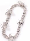 FixedPrice16inch custom necklace jewellery butterfly iced out diamond for women