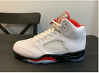 PRE-ORDER 2020 Nike Air Jordan Retro 5 'Fire Red' Size 8-13 DA1911-102 AUTHENTIC