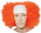 BALD CURLY CLOWN WIG COSTUME ACCESSORY