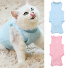 Cat Recovery Suit for Abdominal Wounds or Skin Diseases Soft Breathable Clothes