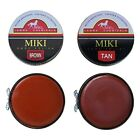 MIKI Brown  Tan Renovating Shoe Boot Trainer Smooth Polish 50 ml Tin