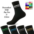 Personalised Novelty Socks - Funcle the Fun Uncle Socks - UK Gift Socks Men's