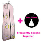 HERE COMES THE BRIDE Garment Bag - Large Pink Bride Wedding Dress Storage Cover