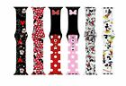 Cute Mickey Mouse Minnie Sport Band for Apple Watch Series 6 5 4 3 2 Wrist Strap