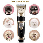 Professional Pet Dog Electric Shaver Grooming Clipper Thick Fur Hair Trimmer Kit