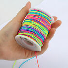10/12/15MM Round Elastic Cord Beading String for Bracelet Jewelry DIY Craft Trim