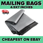 Grey Mailing Bags Postal Mailing Bags Polythene Mailing Bags, 4.5 x 7 Inches
